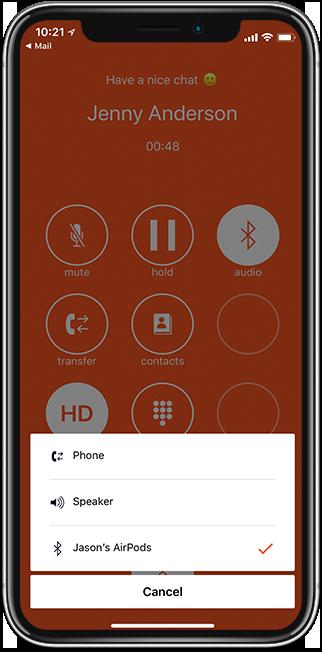 Bluetooth iphone@0,25x